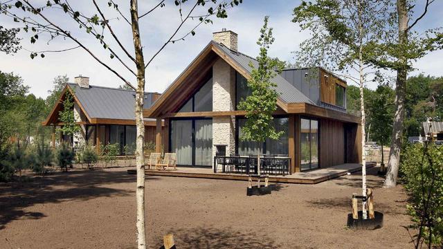 60 procent korting op een luxe gezinsvilla nabij de Loonse Duinen