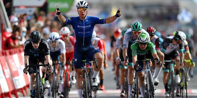 Jakobsen boekt tweede sprintzege in Vuelta en herovert puntentrui