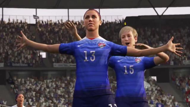 FIFA 16 krijgt voor het eerst vrouwenteams