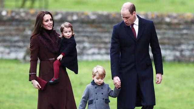 Prins William en Kate Middleton verwachten hun derde kind