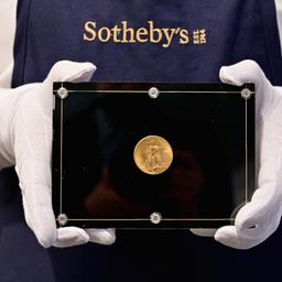 Nieuwe duurste munt ooit: Amerikaanse Double Eagle levert 15 miljoen euro op
