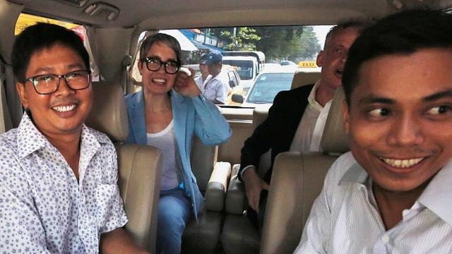 Reuters-journalisten vrijgelaten   MET Gala