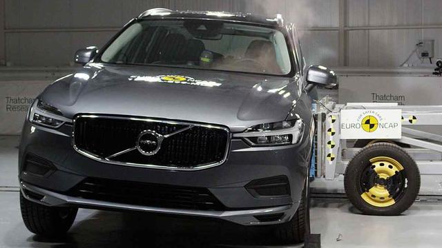 Volvo XC60 haalt bijna perfecte score in Europese botsproef