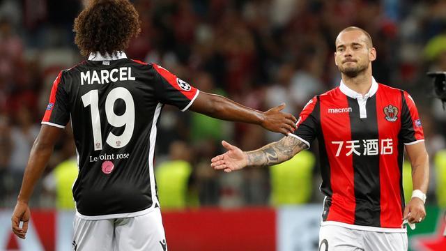 Sneijder loopt met Nice groepsfase Champions League mis