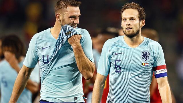 Blind houdt positief gevoel over aan duels met België en Duitsland