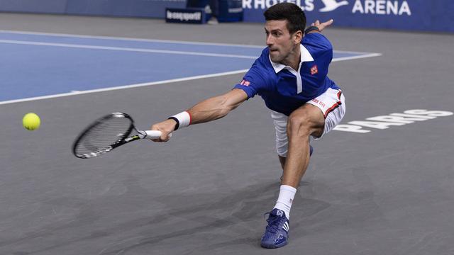 Djokovic, Wawrinka en Murray bereiken halve finales in Parijs