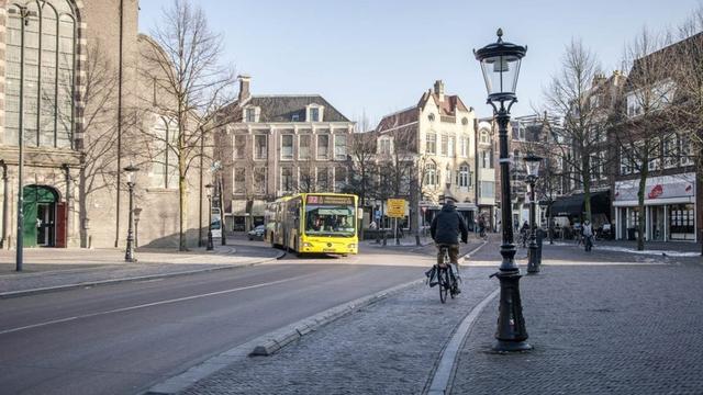 Viertal mishandelt twee mannen op Janskerkhof in het centrum