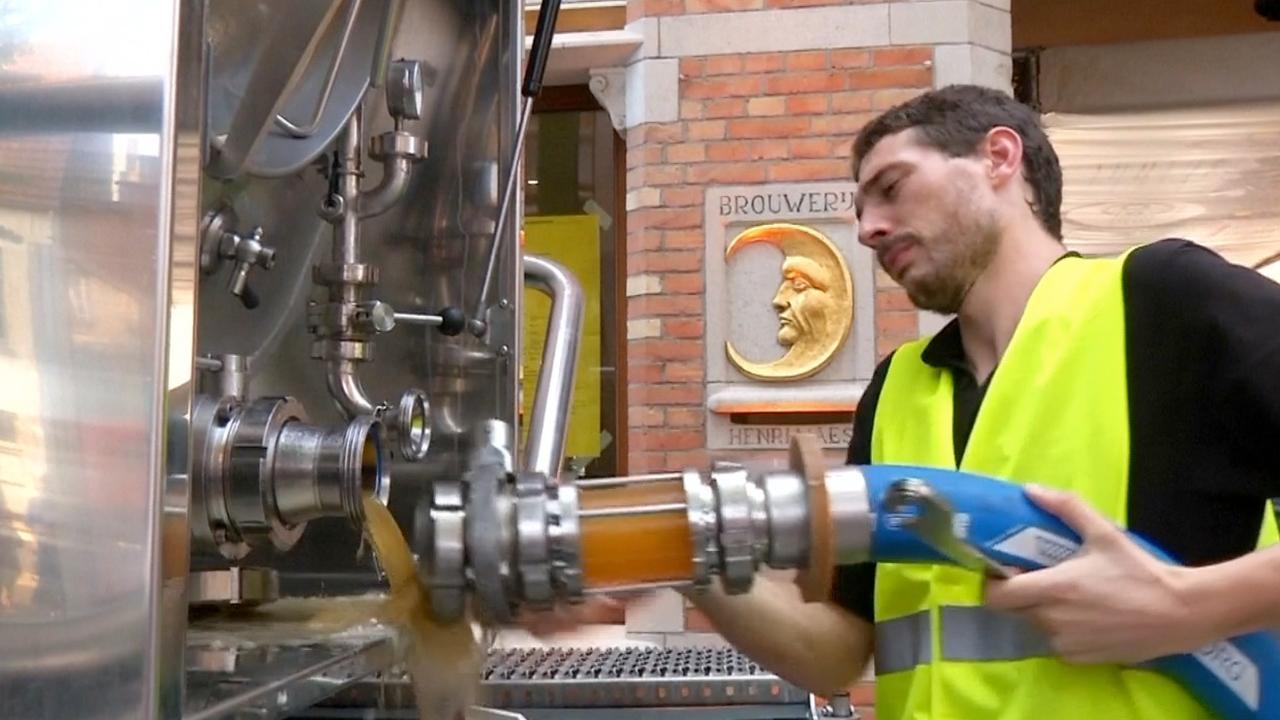 Brouwerij in Brugge legt bierpijpleiding aan