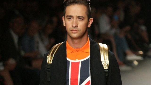 Rapper Yes-R maakt debuut op catwalk