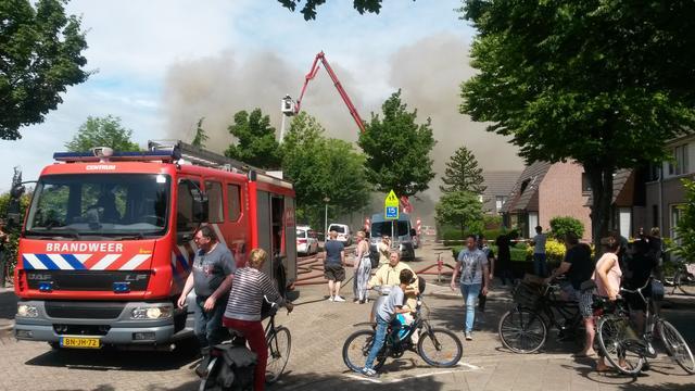 Verdachte bekent betrokkenheid bij schoolbrand Eindhoven