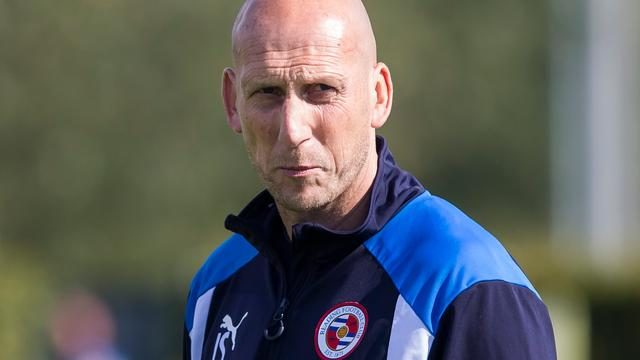 Trainer Stam zegeviert in eerste competitieduel met Reading