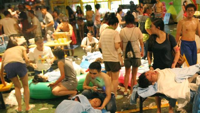 Jarenlange celstraf voor organisator na brand waterpark Taiwan