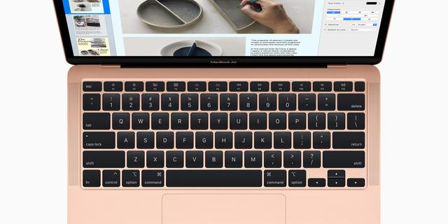 Apple stapt ook bij nieuwe MacBook Air af van omstreden toetsenbord