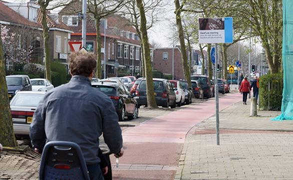 Gemeente breidt nieuw fietspad Rijksstraatweg uit na succesvolle proef