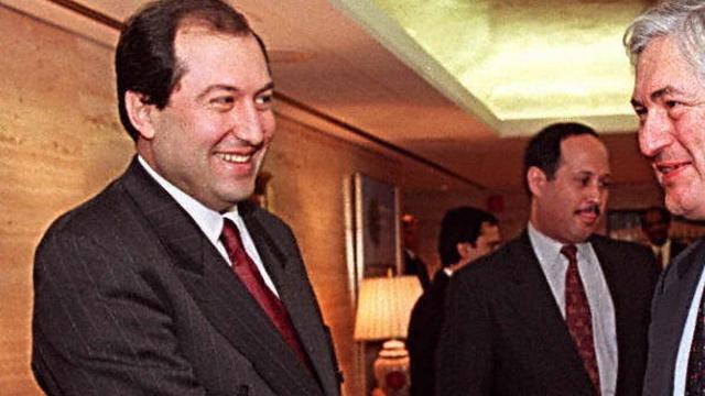 Oud-premier Sarkissian verkozen tot president Armenië