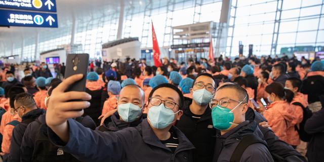 Voor het eerst sinds corona-uitbraak geen nieuwe besmettingen in Wuhan