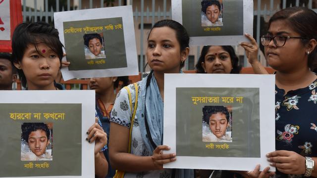 Doodstraf voor zestien Bengalezen die studente levend verbrandden