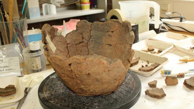 Urnen uit bronstijd gevonden in Zutphen