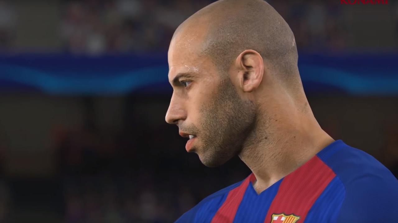FC Barcelona in PES 2017