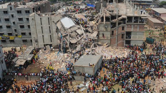 38 mensen aangeklaagd voor drama kledingfabriek India
