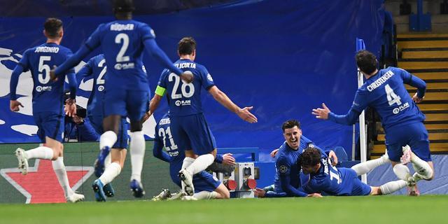 Doelpuntenmaker Mount na finaleplek Chelsea: 'Hadden er vijf moeten maken'