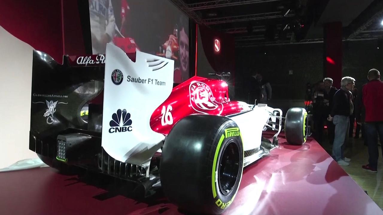 Alfa Romeo en Sauber presenteren Formule 1-auto voor 2018