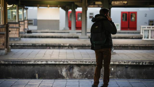 Stakingen België leggen openbaar vervoer plat