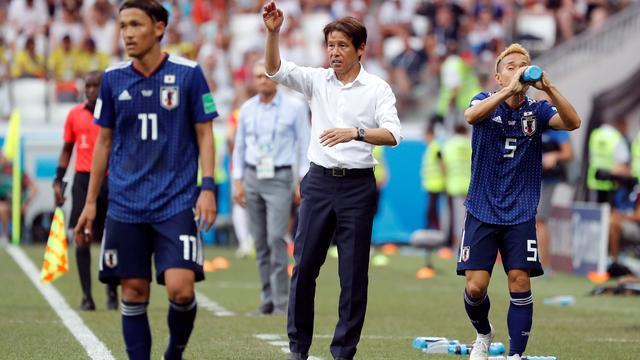Japanse bondscoach niet trots op risicoloze slotfase tegen Polen