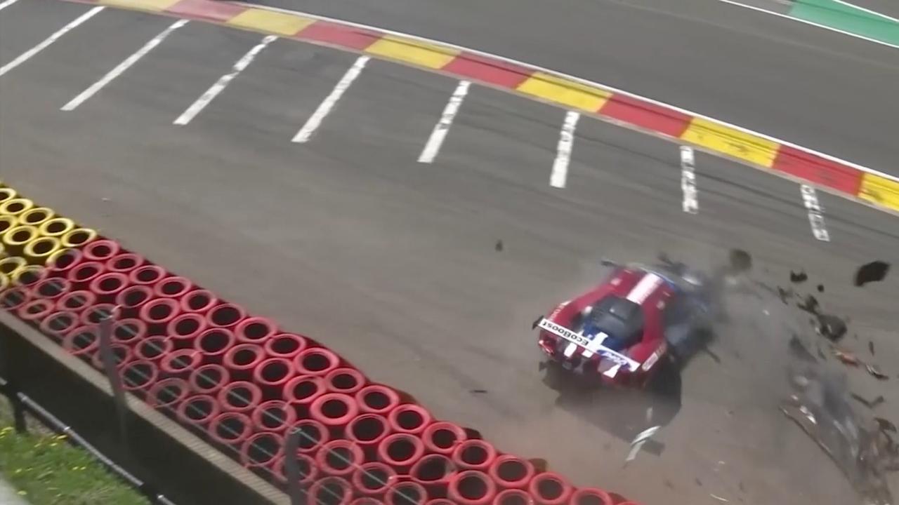 Vele crashes bij eerste ronde World Endurance Championship