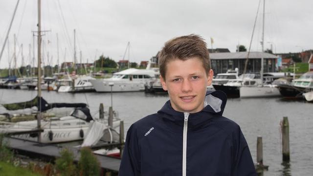 14-jarige Guus de Heer zes maanden op zeilexpeditie