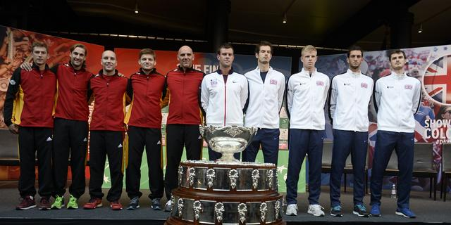 Murray in tweede partij Davis Cup-finale tegen Bemelmans