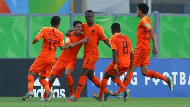 Oranje onder 17 naar achtste finales WK dankzij zege van Argentinië
