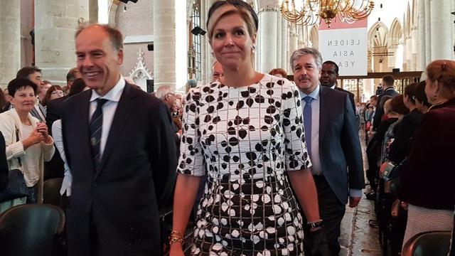 Koningin Maxima opent Leiden Asia Year in Pieterskerk