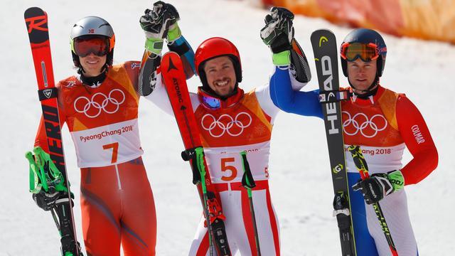 Superieure Hirscher naar tweede goud, Noorwegen leidt medailleklassement
