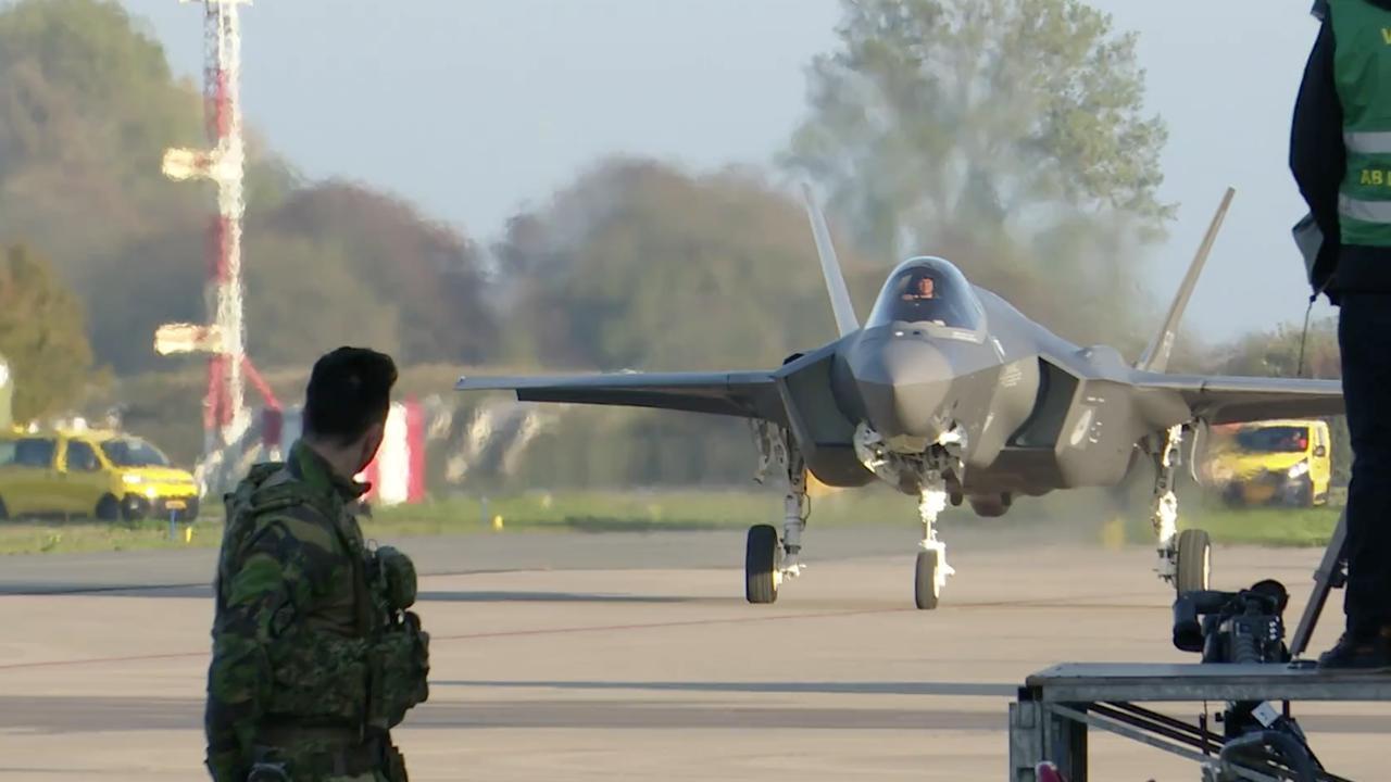 Eerste F-35 aangekomen in Nederland