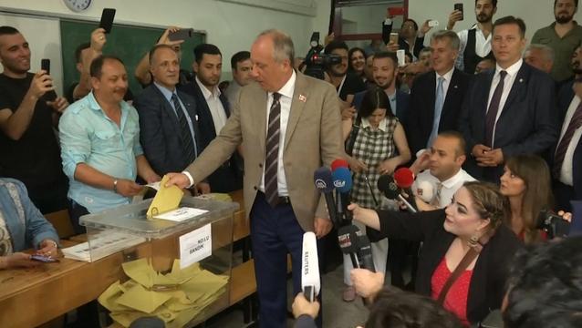 Uitdagers Erdogan brengen stem uit in Turkije
