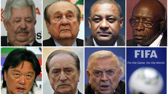 Overzicht: De veertien verdachten in het Amerikaanse FIFA-onderzoek