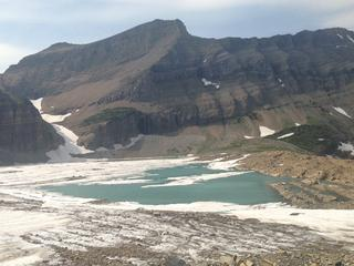 Gletsjers in Montana met gemiddeld 39 procent gekrompen
