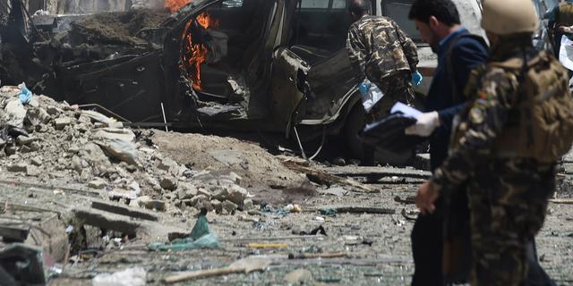 'Zelfmoordaanslag op konvooi met buitenlandse troepen in Kabul'
