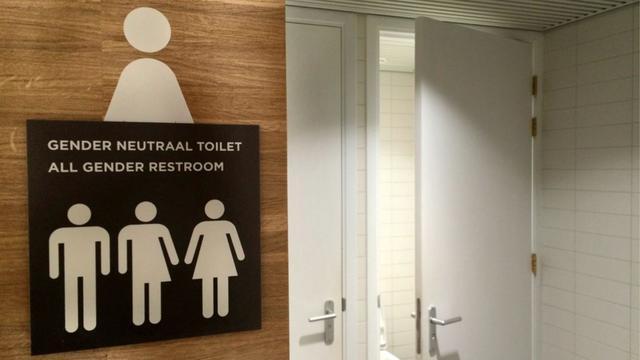 Universiteit Leiden start proef met genderneutrale wc's