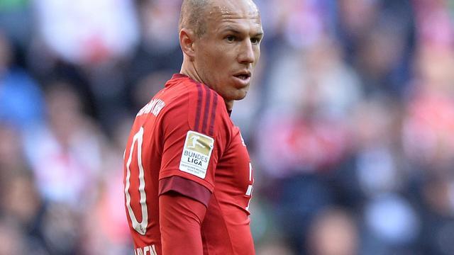 Robben liet Ronaldo buiten top drie bij verkiezing Gouden Bal