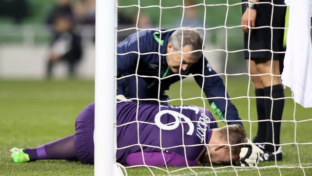 Ierse keeper Elliot mist EK door zware knieblessure