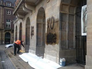 Politie start onderzoek, gemeente heeft tekst verwijderd