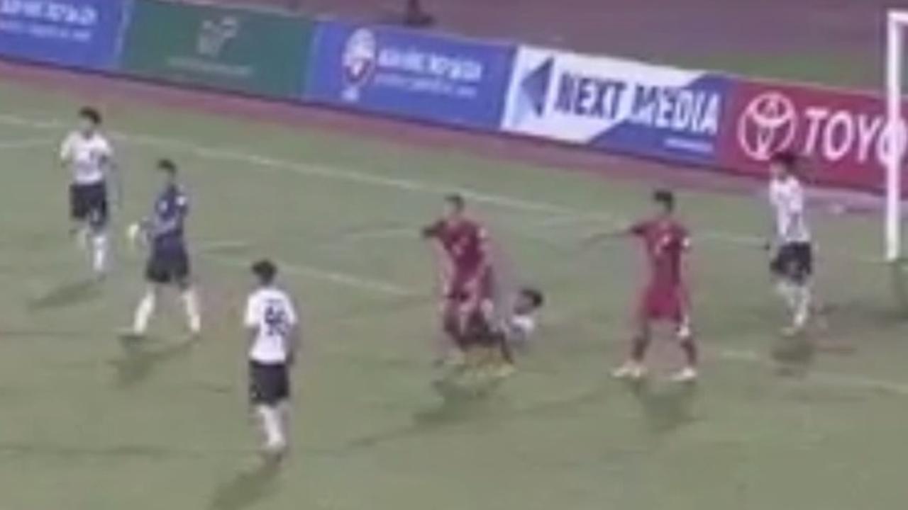 Vietnamees voetbalteam heeft geen zin meer na strafschop tegen