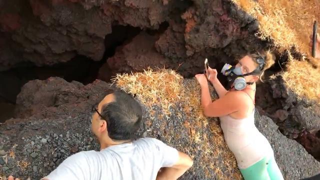 Gigantische scheuren vormen zich onder huis op Hawaï