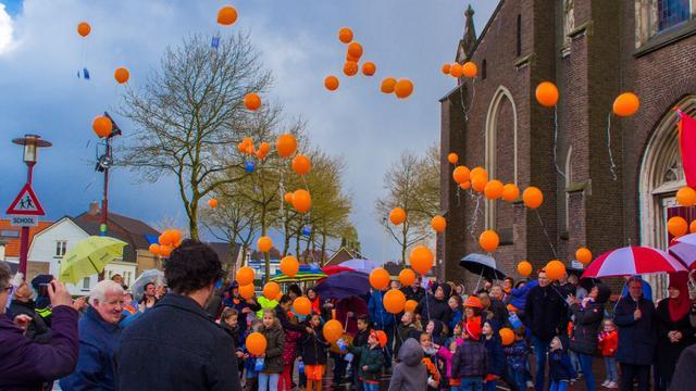 Gezellige Koningsdag in Heerle