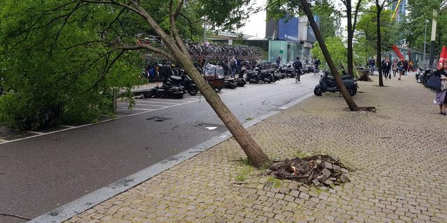 Opnieuw wateroverlast en schade door noodweer in heel Nederland