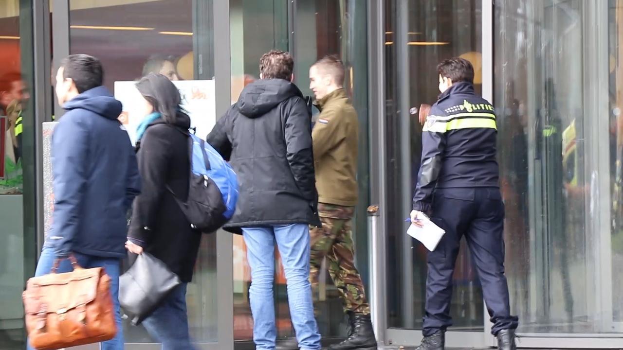EOD en politie onderzoeken ING-kantoor na ontploffen bombrief