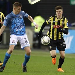 Heracles houdt Vitesse in matige wedstrijd op gelijkspel