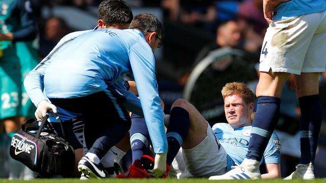 Manchester City mist geblesseerde De Bruyne in stadsderby tegen United